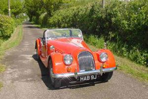 MORGAN 4/4 RED 1971 1600 FORD ENGINE WITH HISTORY WITH MOT AND TAX