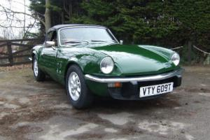 1979 Triumph Spitfire in Brooklands Green
