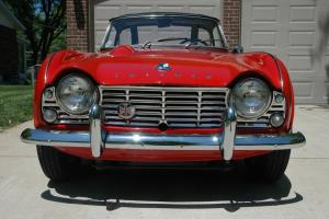 1962 Triumph TR4 Rock Solid Rust Free Driver Ready for Summer Crusing