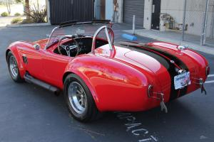 Superformance MKIII Monza Red w/ Black Stripes Keith Kraft 427ci 580HP 565TQ