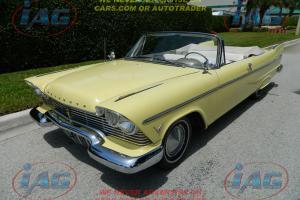 1957 Plymouth Belvedere Convertible,58, Orig 66K Miles, Original Florida Car!!!!