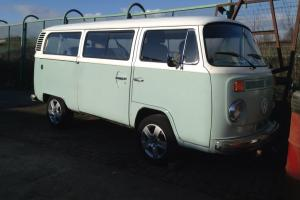 Volkswagen Late Bay camper micro bus little mot just out of tax dead engine