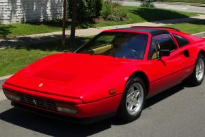 FERRARI 328 GTSi Red Tan in Spectacular Show Condition Serviced New Clutch BEST Photo