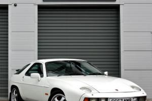1985 Porsche 928 S2 4.7 V8 Automatic Grand Prix White Classic Car