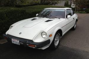 1979 Datsun 280ZX, White, 66K Original Miles, Red Interior, Two Owners