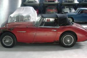 Austin Healey 3000 BJ8 LHD for Restoration 100