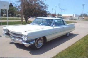 1963 Cadillac Coupe Deville Hard Top, Mostly Original Top to Bottom!
