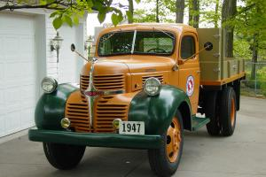 1947 Dodge 1.5 ton Great Northern Railway maintence dump truck.* Restored*