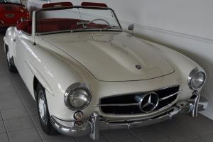 1963 Mercedes 190SL in excellent condition.
