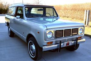 1976  Scout Traveler equipped with the optional 345 ci V-8 engine