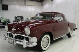 1952 STUDEBAKER CHAMPION STARLIGHT REGAL COUPE CALIFORNIA CAR LOW MILES 3-SPEED Photo