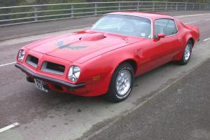 1974 PONTIAC TRANS AM 455 RED