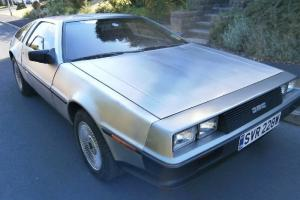 Delorean 1981 Total rebuild from scratch in the Delorean factory in Houston