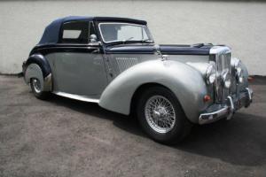 1954 Alvis TC21 Grey Lady Drophead Coupe
