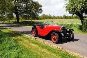 1934 Alvis Firefly Open Tourer  Photo