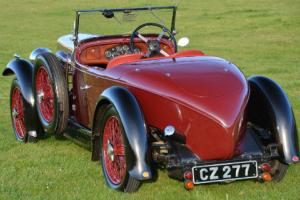 1932 Alvis 12/60 Beetleback in concouse condition.