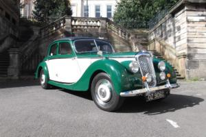 1952 Riley 2.5 LITRE RMF Saloon Manual Green over Beige  Photo