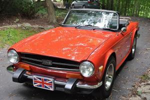 COLLECTOR 1974 TRIUMPH TR6 CONVERTIBLE
