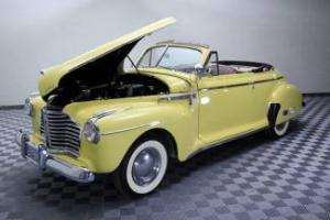 1941 BUICK SPECIAL CONVERTIBLE! FRAME OFF RESTORATION!