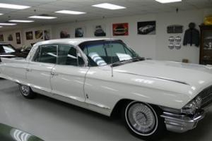 1962 CADILLAC FLEETWOOD ONLY 35,040 MILES ORIGINAL 8 POWER WINDOWS ICE COLD A/C