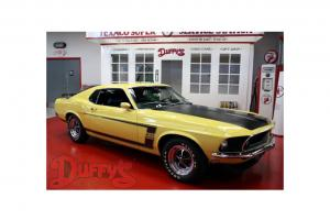 1969 Ford Mustang Boss 302 Yellow 4 speed