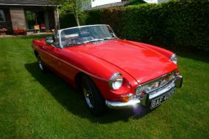 1971 MG MGB Roadster
