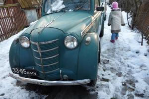MOSKVITCH 401, 1952 start and drive