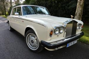 1979 ROLLS ROYCE Silver Shadow II in stunning Ivory body,