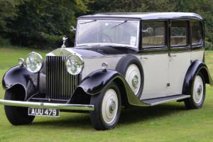 1933 Rolls Royce 20/25 6 light Limousine by Park Ward