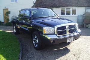 LEFT HAND DRIVE 2005 DODGE RAM DAKOTA SLT DOUBLE CAB TRUCK 21,000 MILES ONLY LHD
