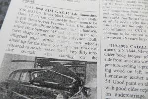 1951 ZIM PROJECT CAR SOLID CAR WILL RUN NO RES SEDAN LOS ANGELES