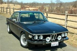 1974 BMW 3.0CS Coupe in Black with Black leather
