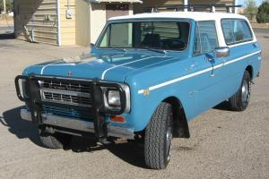 1980 international scout traveler turbo diesel loaded excellent shape Photo