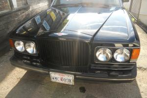 BENTLEY 8 Left Hand Drive 1989/90 mdl Black Black leather low miles