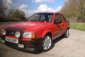 1983 FORD ESCORT RS 1600 I RED MK3 Twin Coils