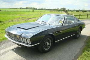 Aston Martin DBS Vantage 1969 driven by Sir Stirling Moss  Photo