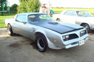 1978 PONTIAC TRANS-AM AUTO HARDTOP...NEEDS TLC