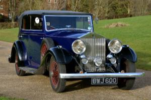 1936 Rolls Royce 20/25 All weather tourer by Offord.  Photo
