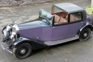 1932 Rolls-Royce 20/25 Barker Sedanca de Ville GMU17