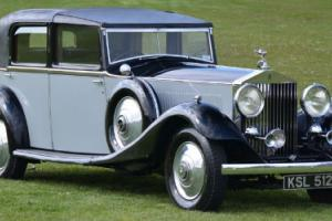 1933 Rolls Royce Phantom II Barker Continental Sedanca.  Photo