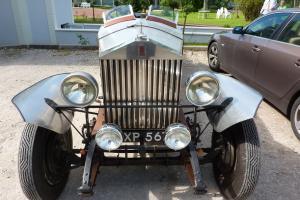 Rolls Royce 20/25 Brooklands racer special GSR50  Photo