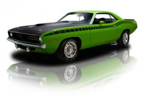 RKM Restored Sassy Grass AAR Cuda 340 Six Pack 4 Speed