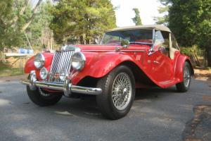 Red 1954 MGTF