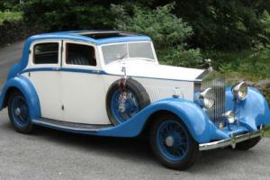 1935 Rolls-Royce 20/25 Hooper Sports Saloon GBJ16