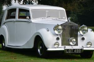 1950 Rolls Royce Silver Wraith.