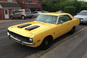 1972 DODGE DART SWINGER 2 DOOR COUPE V8 MOPAR MUSCLE CAR