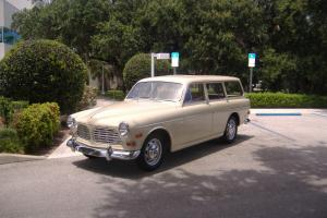 Volvo 122S Wagon, Rustfree  two owner California  car . Photo