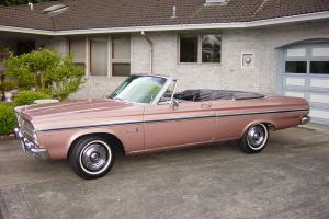 1965 Plymouth Belvedere II Convertible original owner