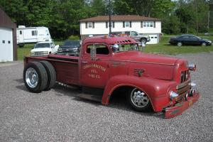 International R185 Fire truck, Chopped,  Rat rod, street rod, hot rod, Lead sled
