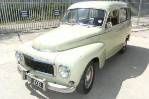 VOLVO P210 DUETT- - 1961- - Very rare classic estate